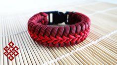 How to Make Stormdrane's Center Stitched Fishtail Paracord Bracelet Tuto...