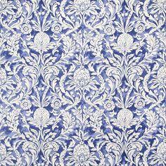 Warwick Fabrics : GERSCHWIN in colour Indigo