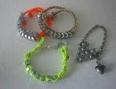 Concedetevi un salto dal ferramenta e trasformate bulloni e rondelle in bijoux estivi