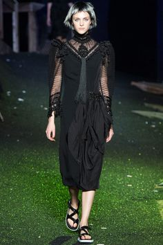 Marc Jacobs   Spring 2014 Ready-to-Wear Collection   Style.com wodows weeds ress