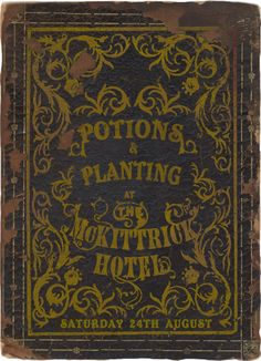Potions & Planting at The McKittrick Hotel