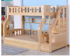 Лестница шкаф древесины кровать для детейкупить в магазине Firefly light Home FurnishingнаAliExpress