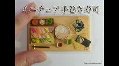 ちょび子★ミニチュア手巻き寿司