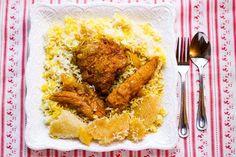 Chicken and Rice (Morgh Polo) Chicken and Rice (Morgh Polo)