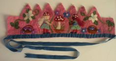 Toadstall Fairy Waldorf Crown by SusannaW on Etsy, $70.00
