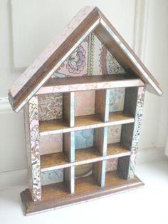 デンマークで見つけたかわいい雑貨 ―デンマークの小さなお家の飾り棚2  dkzakka