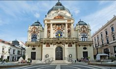 TRAVELER IN THE KNOW NATIONAL THEATRE, PÉCS, HUNGARY  Pécs is one of Central Europe's most charming small cities, full of Turkish-style buil...