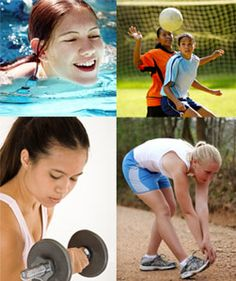 GirlsHealth.gov - Fitness Section.  Learn about basic fitness, the importance of exercise and staying safe while playing sports