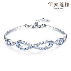 Swarovski Elements Crystal Infinity Symbol Bracelet from #YesStyle <3 Italina YesStyle.com