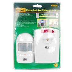 The Drive Way Alarm This Homessafe Wireless Safety Alert & Driveway Patrol Alarm has a unique passive infrared system that concentrates on the protected area you select. Home Security Alarm, Best Home Security, Wireless Home Security Systems, Safety And Security, Security Camera, Security Products, Security Solutions, Security Surveillance, Surveillance System