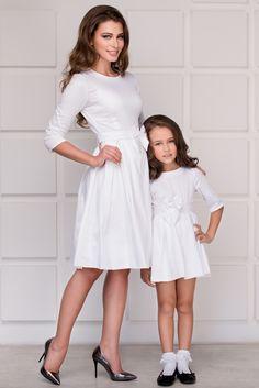 WHITE DRESS FOR DAUGHTER