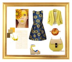 A raise of sunshine by sortmywardrobe on Polyvore featuring polyvore, fashion, style, Alice + Olivia, Pierre Hardy, Chloé, Plukka and clothing
