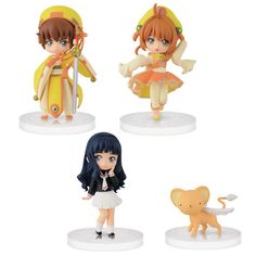 Cardcaptor Sakura is one of those unforgettable, classic anime that keeps fans' hearts warm even many years after its completion. Not to mention the fact that many of its characters appear in other, newer works by CLAMP in some form! These cute chibi figures are part of the collectible series Atsumete Figures for Girls under the popular brand Girls Memories. The new lineup contains four figures as...