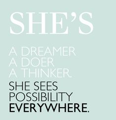 I pray that my girls (and my son) continue to dream big, love big, & know that with God....the possibilities are endless! :)