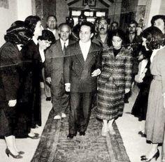سەردانی مەلیک فەیسەڵی دووەم بۆ سلێمانی سالى ١٩٥٥. زيارة جلالة الملك فيصل الثاني لمدينة السليمانية عام ١٩٥٥.