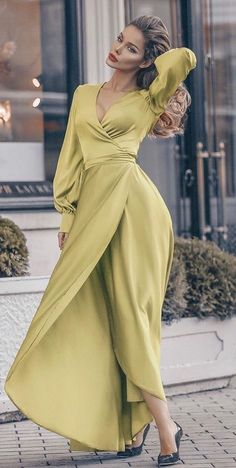 ab17b74350a Shop Lantern Sleeve V-Neck Wrap Irregular Dress – Discover sexy women  fashion at Boutiquefeel
