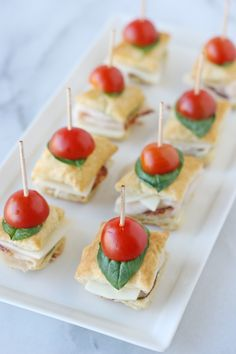 Turkey Pesto Appetizer Bites - Glorious Treats