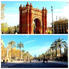 Arc de Triomf, #Barcelona