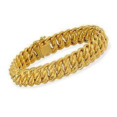 Ross-Simons - Italian 18kt Yellow Gold Bracelet - #770153