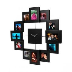 Photo Frame Clock To make sure there's 'His', 'Hers' and 'Us' time. Picture Clock, Gifts For My Girlfriend, Wedding Wishlist, Great Wedding Gifts, Smart Furniture, Sentimental Gifts, Best Gifts, Photo Wall, Gallery Wall