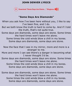 John Denver lyrics