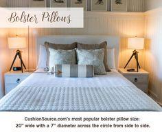 Best Uses for Bolster Pillows