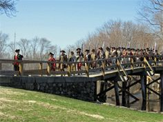 Visit the park and learn about the first battle of the American Revolution.