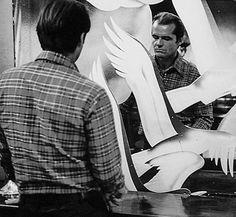 """Jack Nicholson en """"El Reportero"""", 1975"""