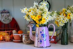 Spring Has Sprung, New Beginnings, Friday, Colorful, Orange, Beautiful, Decor, Decoration, Decorating