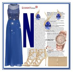 """""""Sammydress IV-35"""" by azra-90 ❤ liked on Polyvore featuring Sergio Rossi and Nina Ricci"""