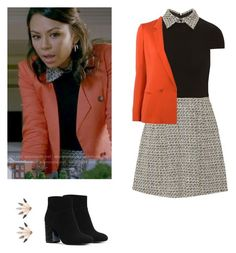 Mona Vanderwaal - pll / pretty little liars by shadyannon on Polyvore featuring polyvore fashion style Alice + Olivia Etro MICHAEL Michael Kors Pamela Love clothing