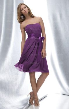 Cheap Purple Bridesmaid Dress BNNAD1025-Bridesmaid UK