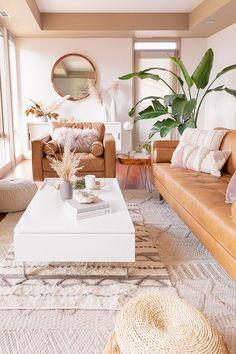 Bohemian Living Room – Home Diy Organizations Home Decor Inspiration, Home Living Room, Interior, Dining Room Bar, Cheap Home Decor, House Interior, Mid Century Modern Decor, Mid Century Modern Living Room, Living Decor