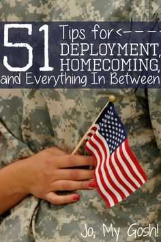 Homecoming, deployment, reintegration-- tons of tips to help through every stage.