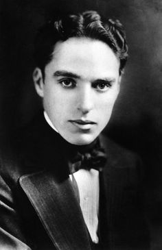 Charlie Chaplin Bet you didn't recognize him without his makeup/costume!