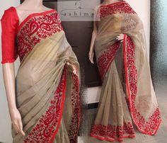 Code:0407177 - Price INR:2390/- , Embroidered Kota Saree. Cotton Saree Blouse Designs, Bridal Blouse Designs, Kurta Designs, Lace Saree, Satin Saree, Saree Dress, Trendy Sarees, Fancy Sarees, Indian Attire