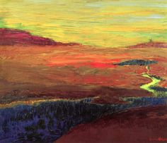dappledwithshadow:  Marshland, Emil Nolde 1927