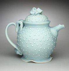 Aqua teapot