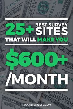 53 Best Survey Sites For Extra Money Online [Updated Best Paid Online Surveys, Legit Paid Surveys, Online Survey Sites, Make Money Online Surveys, Best Survey Sites, Earn Money From Home, Make Money Blogging, Online Jobs, How To Make Money