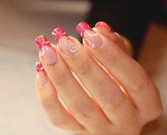 Nail Art French Tourbillon