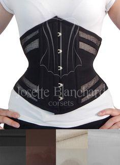 Ref.: WC 009 Corset waist-cincher em tela 100% algodão bege e sarja 100% algodão bege, faixas internas e fechamento frontal por busk .  Site: http://www.josetteblanchardcorsets.com/ Facebook: https://www.facebook.com/JosetteBlanchardCorsets/ Email: josetteblanchardcorsets@gmail.com josetteblanchardcorsets@hotmail.com
