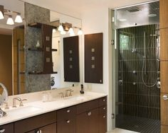 mirror for japanese inspired bathroom - Google Search