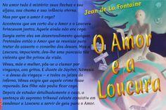 Grafados: Jean de La Fontaine - O Amor e a Loucura (fábula)