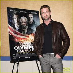 Gerard Butler: 'Olympus Has Fallen' Screening & Q!  GREAT MOVIE!!!