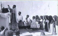 "fatherangel: "" Clandestine Mass during the 1920's, Cristero War, Mexico. """