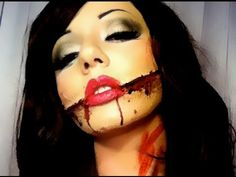 Glasgow Smile sfx makeup | My SFX Makeup | Pinterest | Glasgow smile