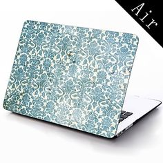 Vintage Design Flower Pattern Full-Body Protective Plastic Case for 11-inch/13-inch New Mac Book Air – USD $ 25.99