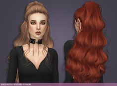 Seven devils all around me - Newsea Kaysa Comes in 52 swatches Custom. Hair The Sims 4, Sims 4 Black Hair, Sims 4 Toddler Clothes, Sims 4 Mods Clothes, Sims 4 Cas, Sims Cc, The Sims 4 Packs, The Sims 4 Cabelos, Pelo Sims