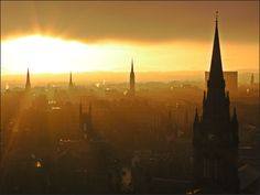 Aberdeen, Scotland - I spent a year here and will never shake how beautiful it is.
