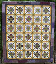 """FREE pattern: """"Jared Takes a Wife"""" by Bonnie K. Hunter (from Quiltville's Quips & Snips!!)"""
